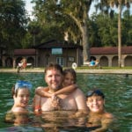 Family cools off together at DeLeon Springs