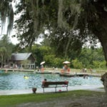 Cooling off at DeLeon Springs