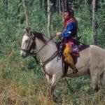 Seminole Warrior at Dade's Battlefield