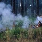 Seminole Attack at Dade's Massacre