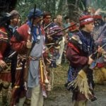 Seminole Warriors at Dade's Battlefield