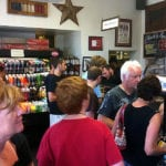 In line at Four Rivers Smokehouse