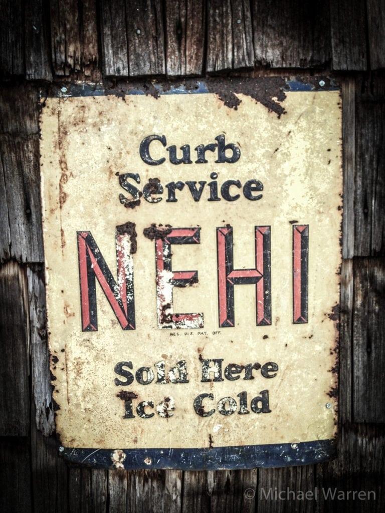 Nehi Soda Ad