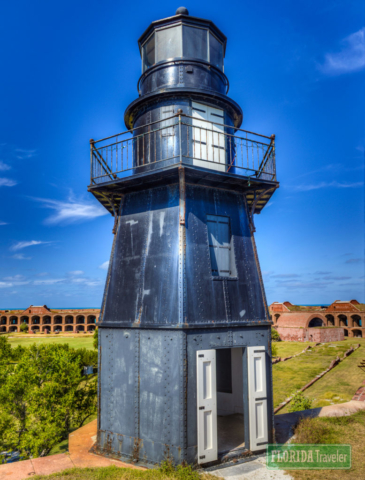 Garden Key Lighthouse at Dry Tortugas National Park