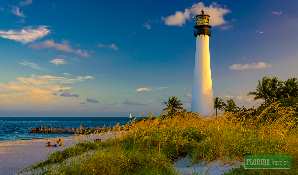 Cape Florida Lighthouse at Bill Baggs Cape Florida State Park