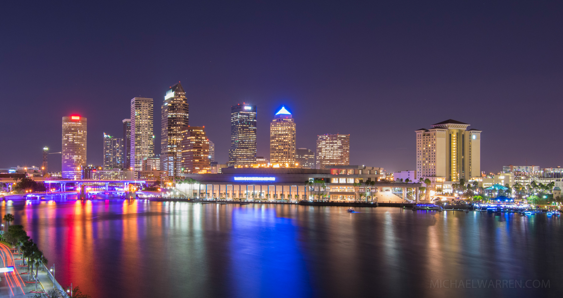 Tampa Skyline from Davis Island