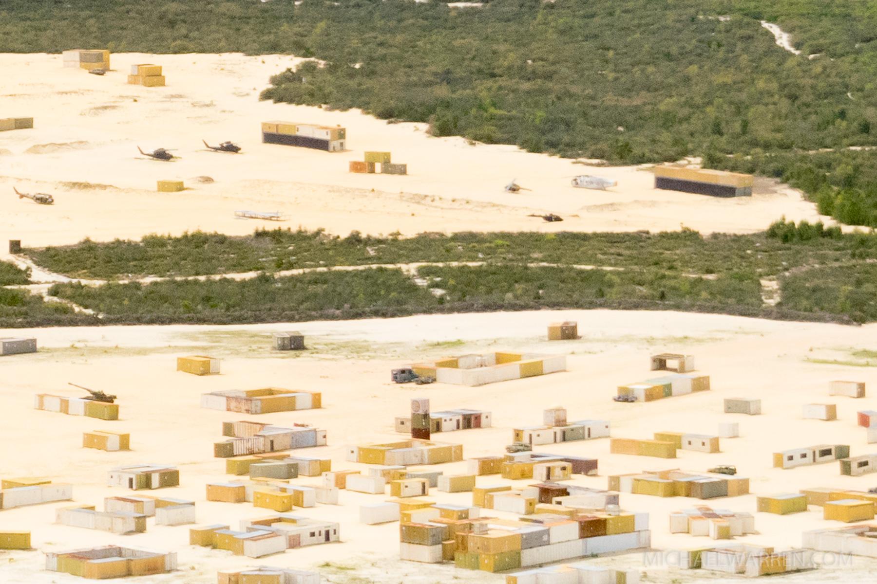 Mock Middle Eastern Village