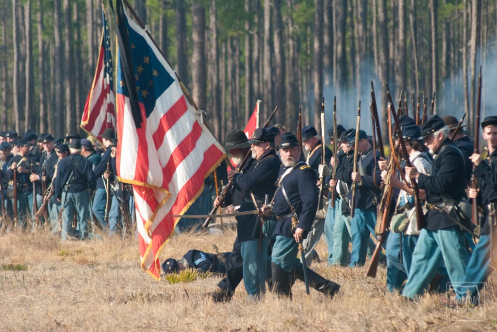 Union Troops at the Battle of Olustee